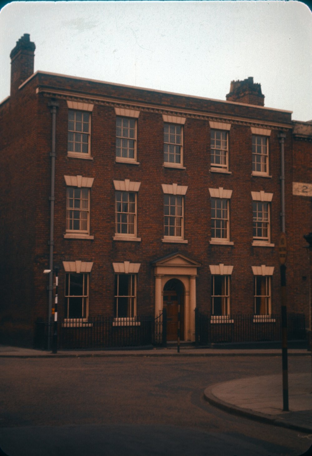 Gun Quarter, St. Mary's Row. Corner of Whittall Street. 25th March 1960