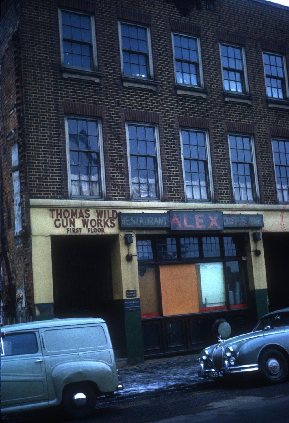 Gun Quarter. Thomas Wyld Gunworks, 1st Floor, No.16 Whittall Street. 16th February 1963