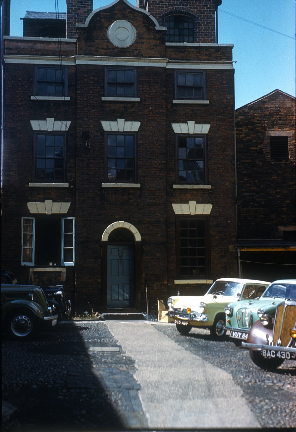 No.7 Whittall Street, Entry to Andertons Square. Parker-Hale Arms & Accessories (Workshops built c.1773) 13th June 1960