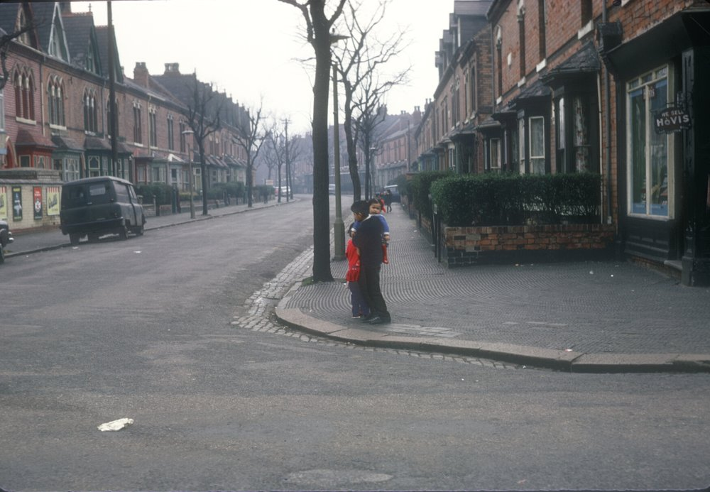 Handsworth - Thornhill Road, Holly Road Corner (Opposite Handsworth Park) 8th March 1968