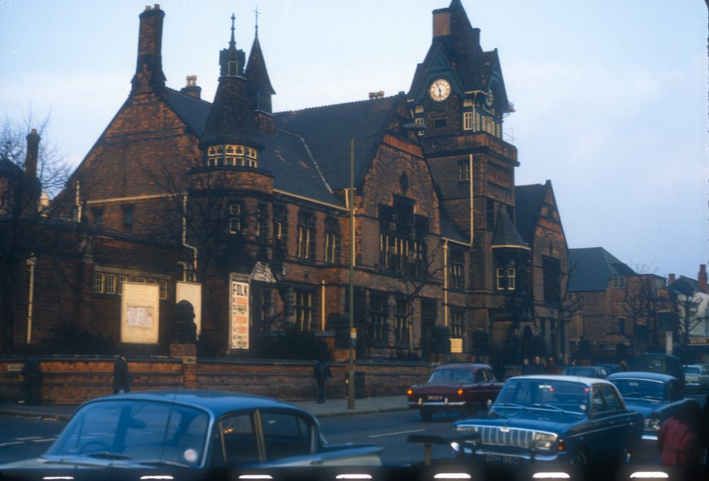 Handsworth College of Art (Former Urban Council Offices) Soho Road, 1878-9. 2nd March 1968