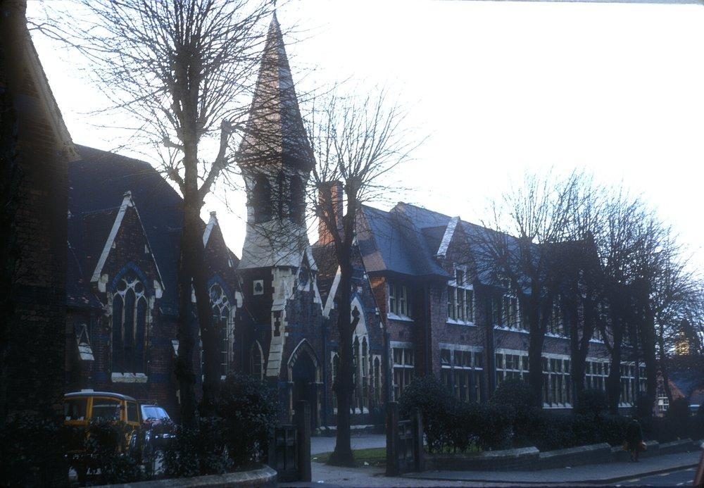 Handsworth Grammar School, Grove Lane (Opened 1862) 9th March 1968