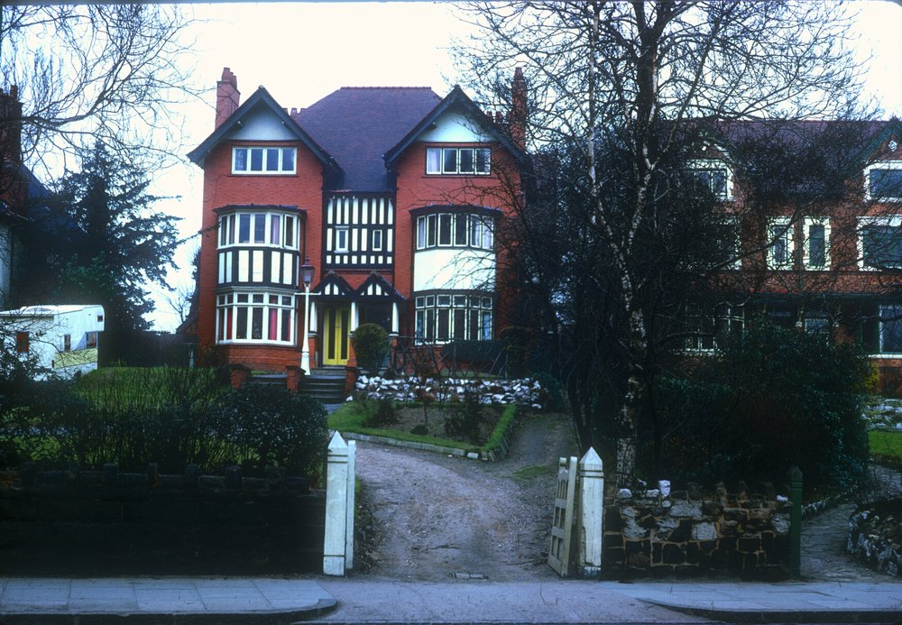 Handsworth Large Villa Residences, Church Lane, Numbers 115-119 (Late 19th Century) 8th March 1968