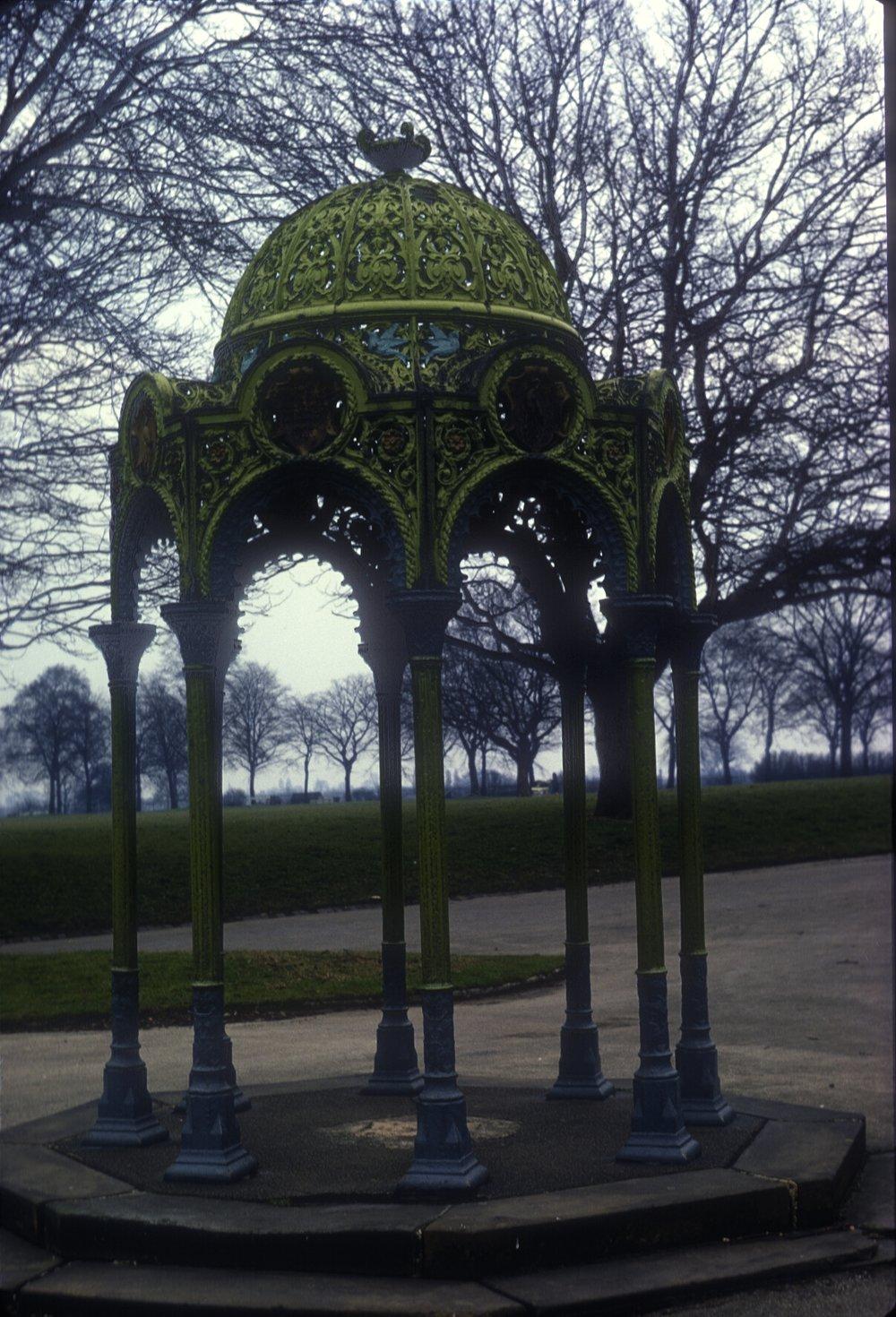 Handsworth Park. 8th March 1968