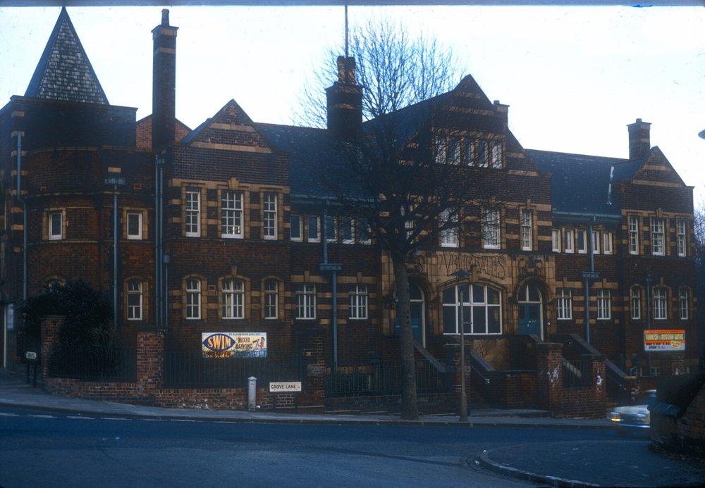 Handsworth Public Baths, Grove Lane (Adjoining Park, Hinstock Road Corner) 9th March 1968.jpg