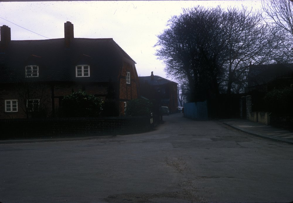 Handsworth Slack Lane from College Road to Oxhill Road - Old Cruc House (Old Town Hall 15th Century) 8th March 1968