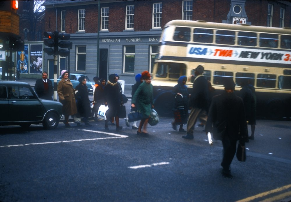 Handsworth Soho Road, Grove Lane Corner. 8th March 1968