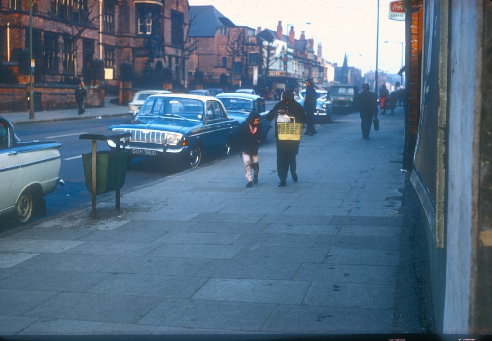 Handsworth Soho Road, Opposite the College of Art. 2nd March 1968