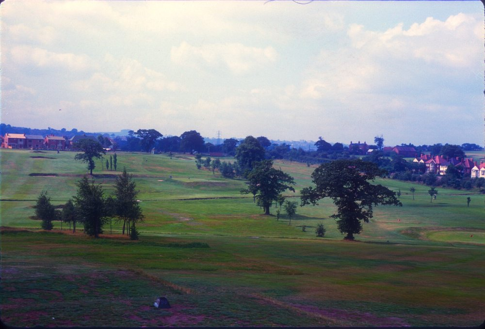 Harborne Golf Course (view from St. Peter's Church Yard) 12th August 1960