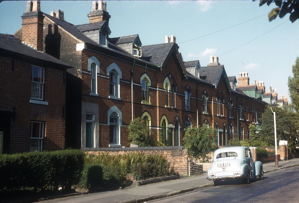 Harborne Greenfield Road, No. 88-100. 17th August 1961
