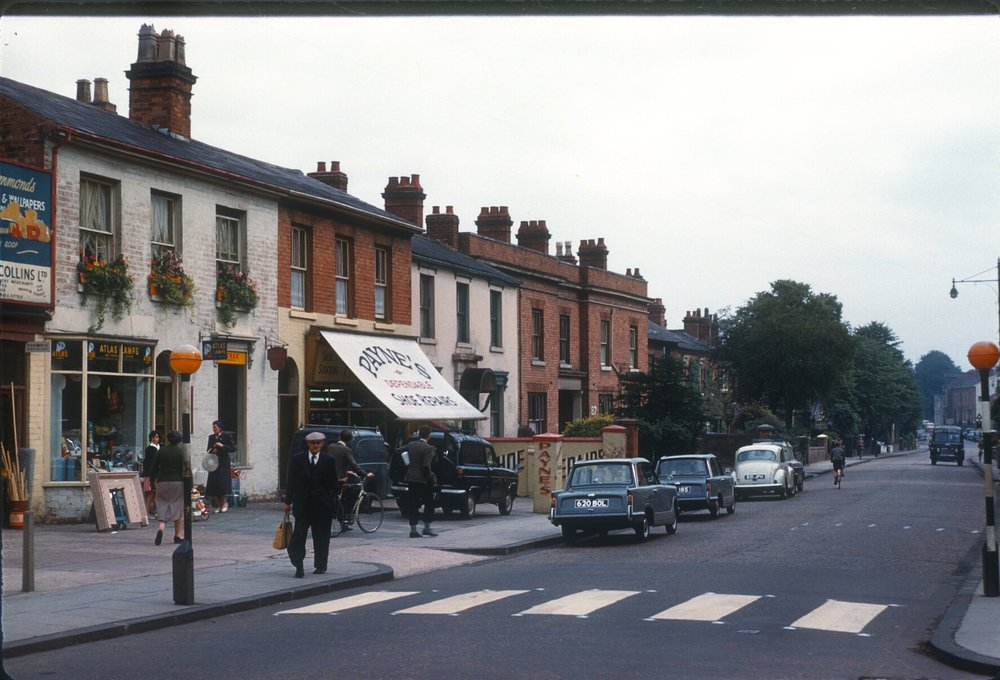 Harborne High Street. 12th August 1960