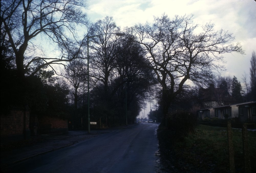 Harborne Metchley Lane Prefabs. 3rd December 1966