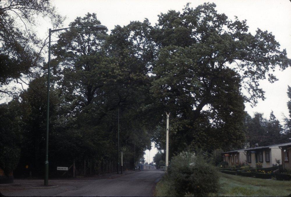 Harborne Metchley Lane, Parish Building. 28th September 1961