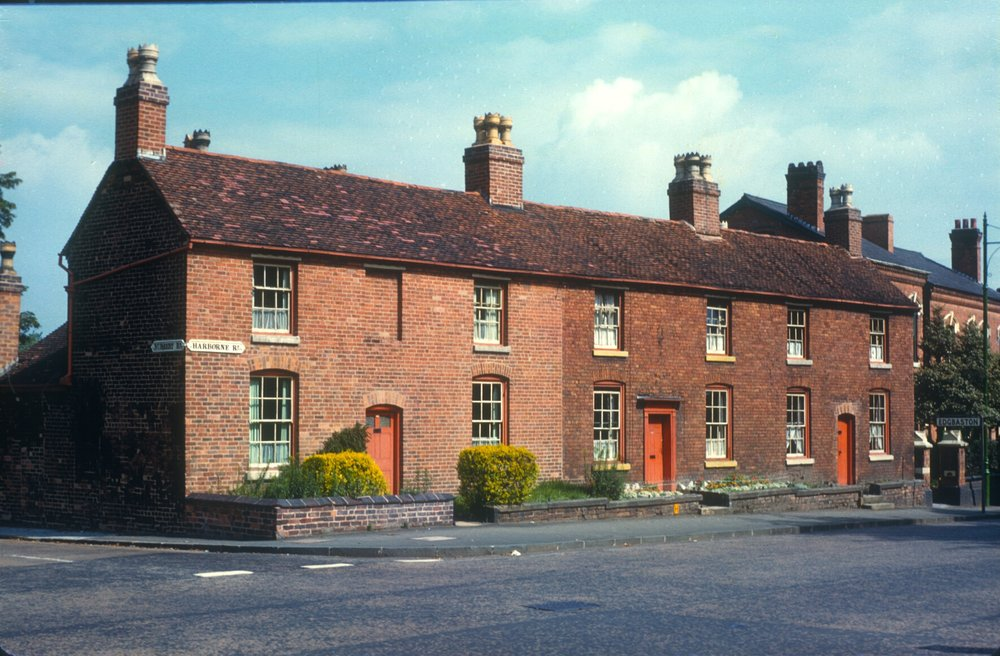 Harborne, Harborne RdNursery Rd (In Edgbaston adjoining Harborne Heath) 12th August 1960