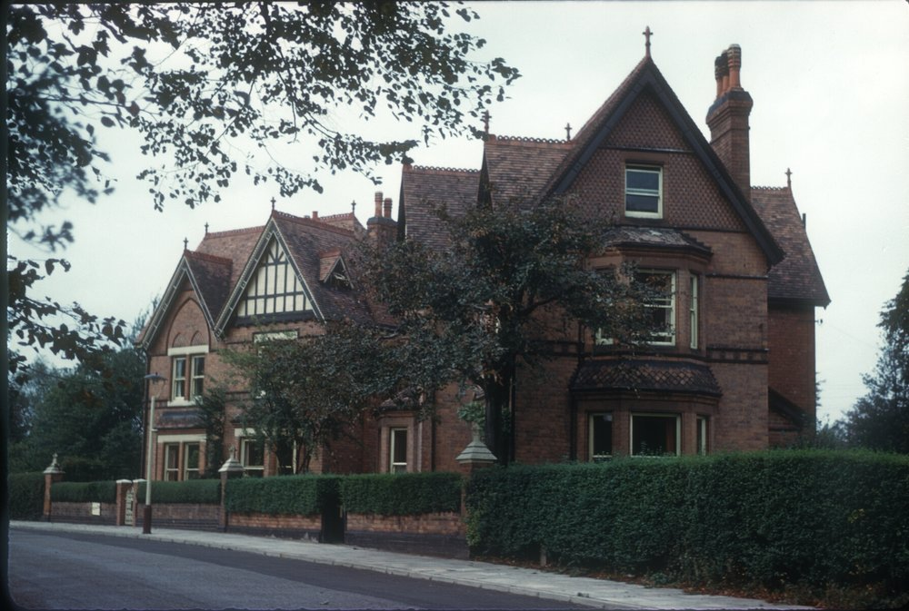Harborne, No's 3 & 5 Abbey Road. 28th September 1961