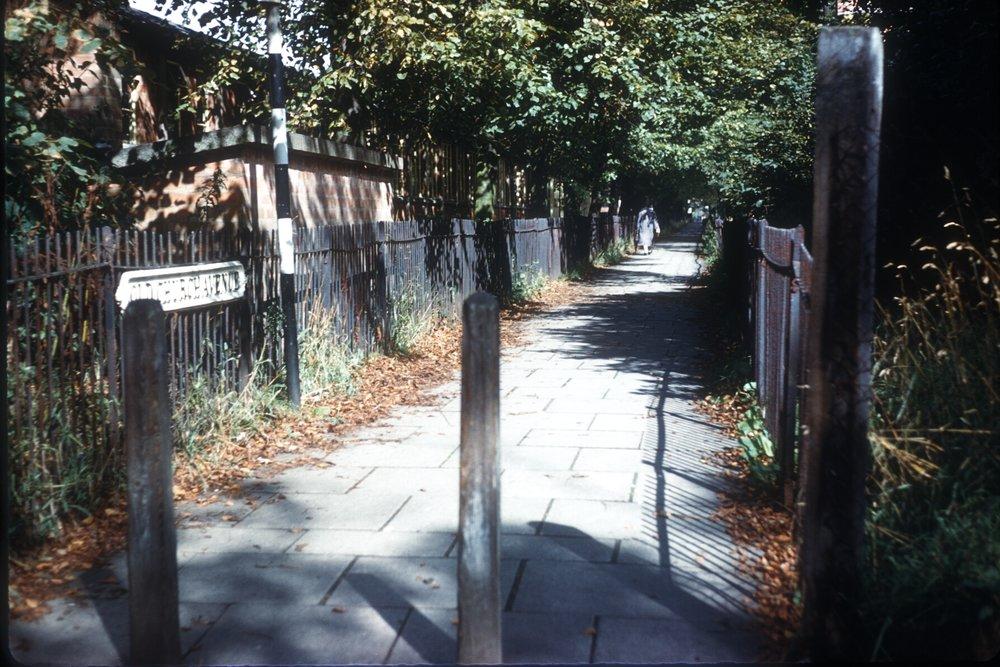 Harborne, Old Church Avenue. 14th September 1961