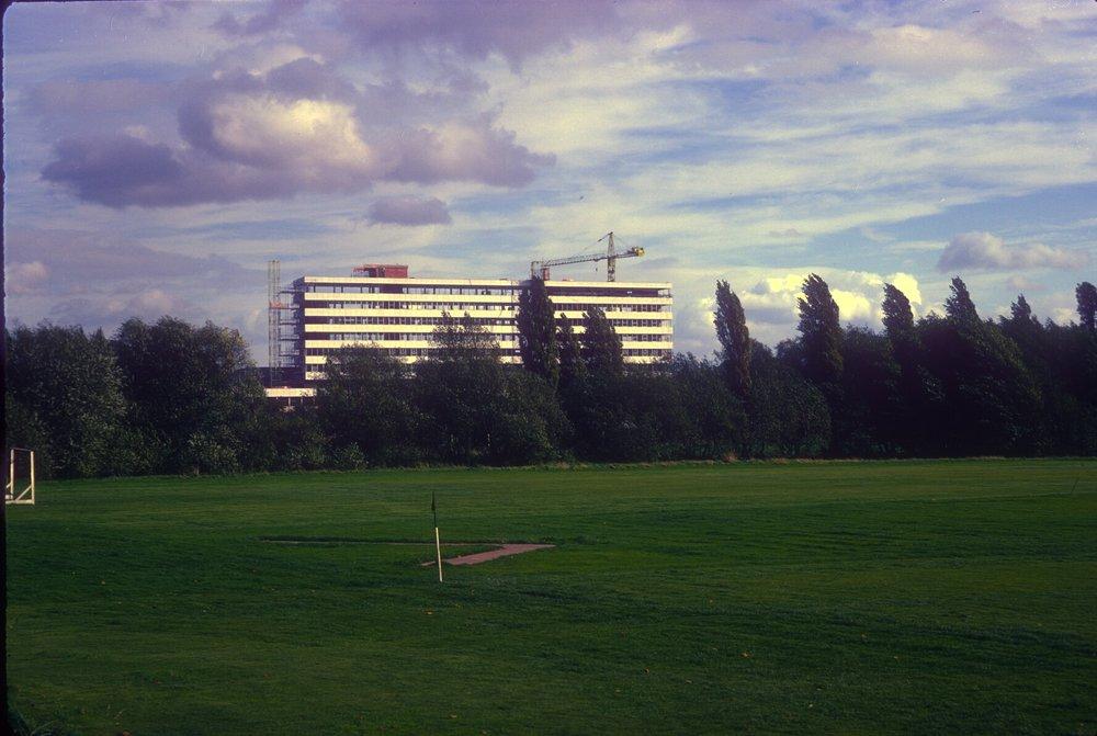BBC Midland Regional Headquarters, Pebble Mill Road. 13th October 1968