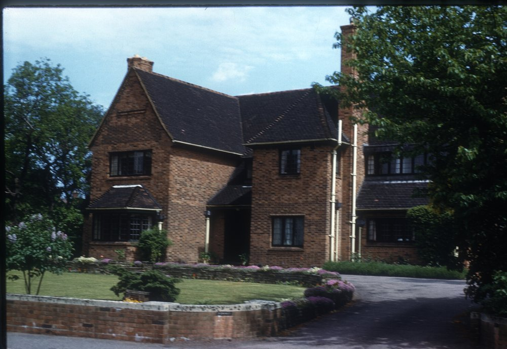 Detached House, Pritchatts Road, Edgbaston. By Canal Bridge. 26th May 1960