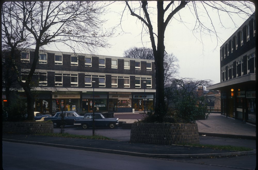 Edgbaston New Shopping Area in Wheeleys Road near Carpenter Road (Templefield Square) 20th November 1968