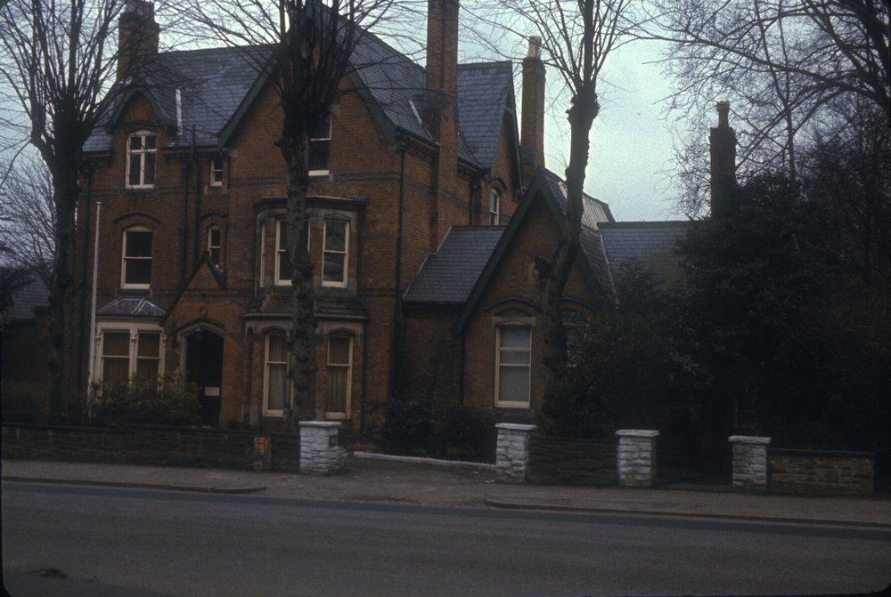 Edgbaston Richmond Hill Road Opposite Harrison Road. 11th February 1967