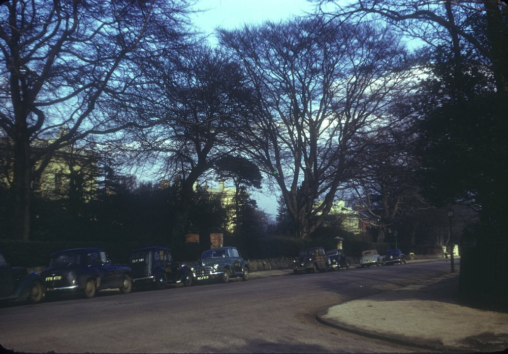 Edgbaston Wellington Road. 5th March 1954