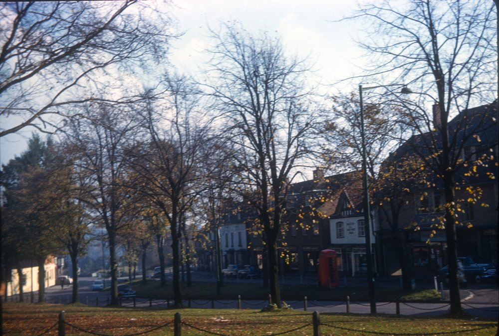 Kings Norton The Green. November 1961