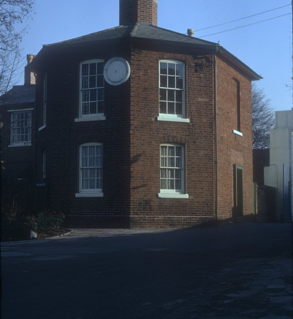 Ladywood, House at entrance to Rotton Park Reservoir (Reservoir Rd) built c.1825. 9th November 1968