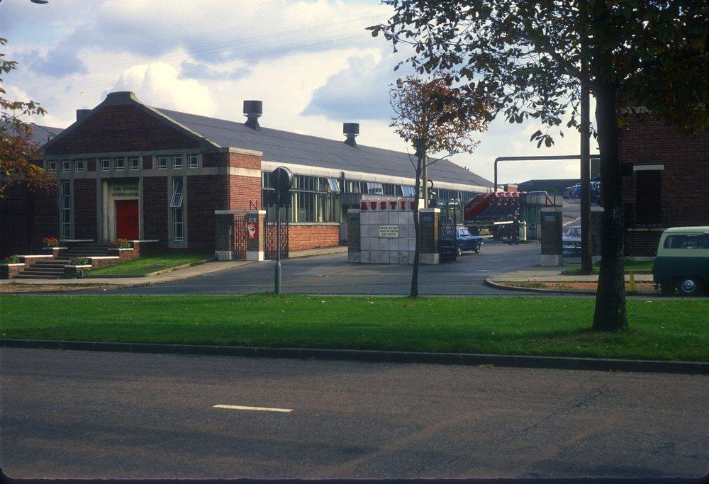 Longbridge, Austin Motor Works - Lickey Road Entrance (Bristol Road) 24th September 1968