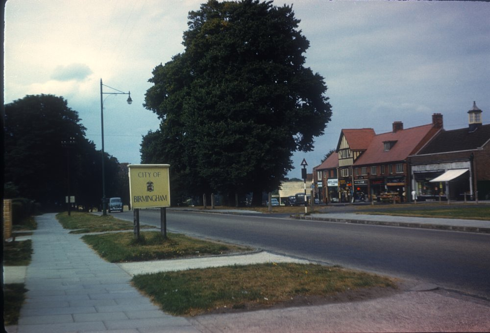 Maypole, Alcester Road. 15th September 1959
