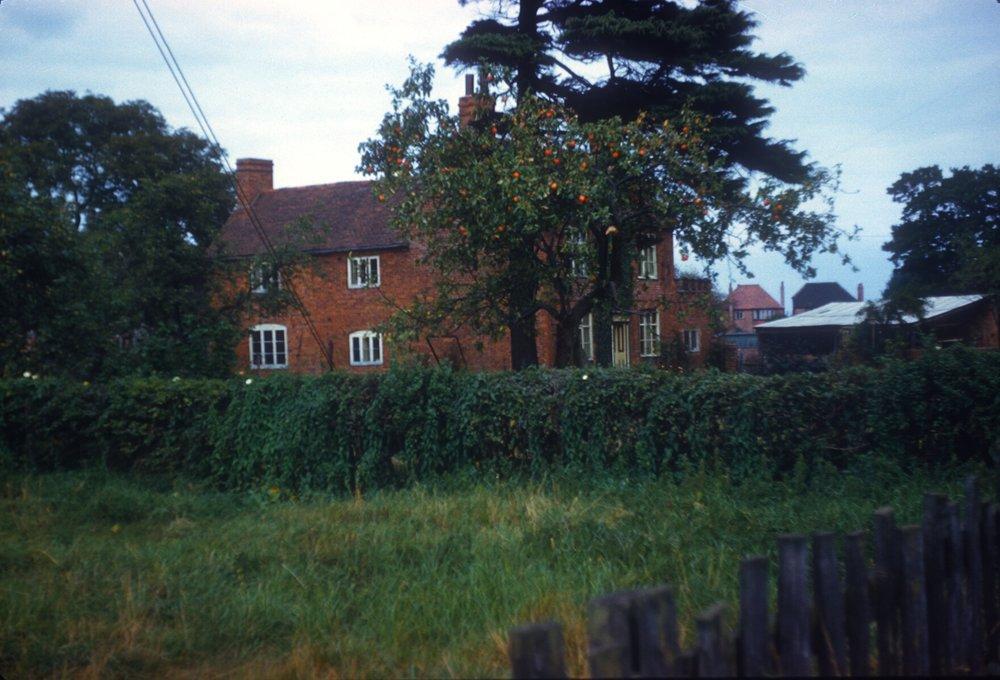 Maypole, Druids Lane (Alcester Road). Maypole Farm. 15th September 1959