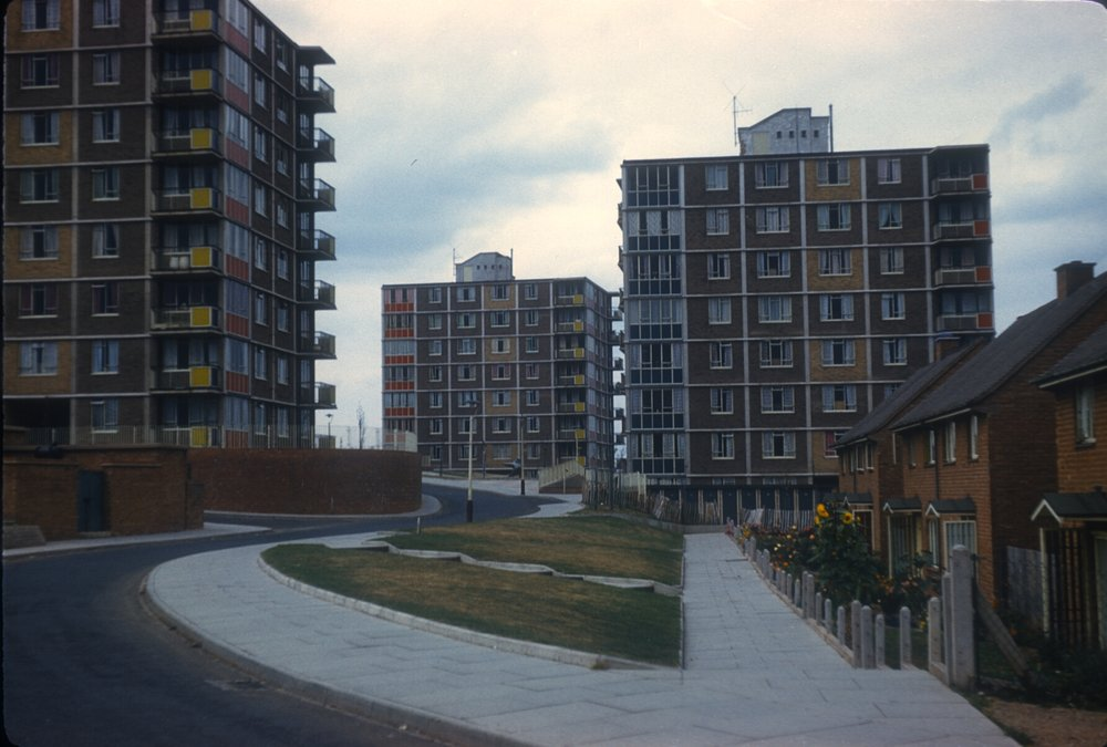 Maypole, Warstock Road Flats (Alcester Lanes End) 15th September 1959
