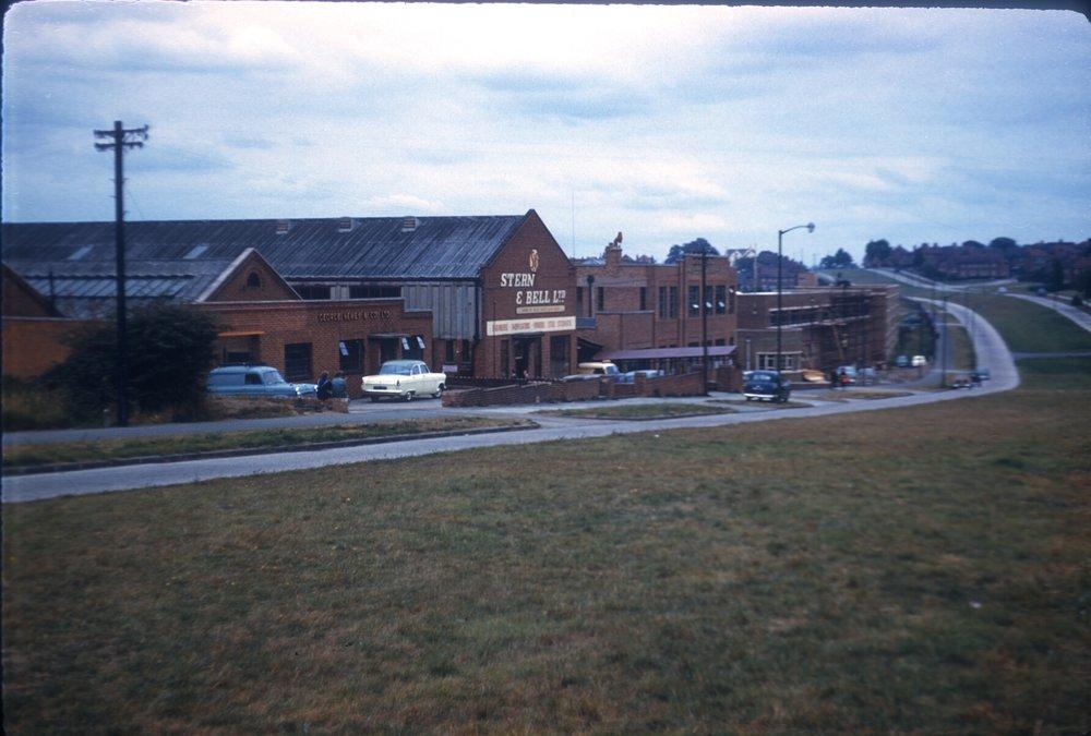 Maypole, Warstock Road, Light Industry (Alcester Lanes End) 15th September 1959