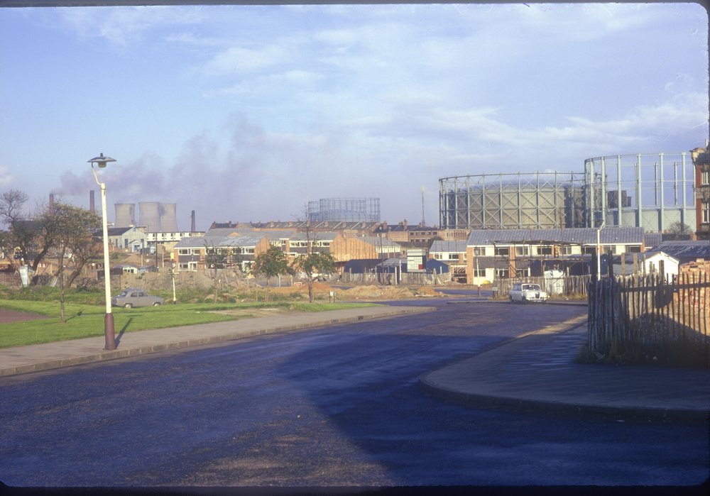 Nechells Green, Industrial Saltley. View from Oliver St to the east. View point nr Bradbourn Way. 13th October