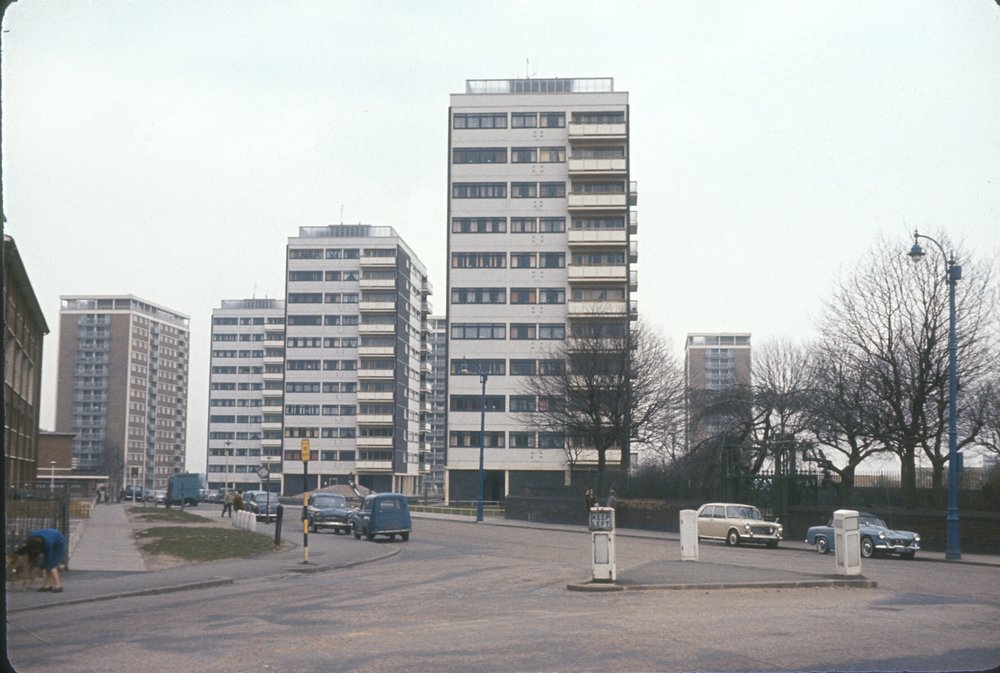 Newtown, Great Hampton Row. 1st April 1967