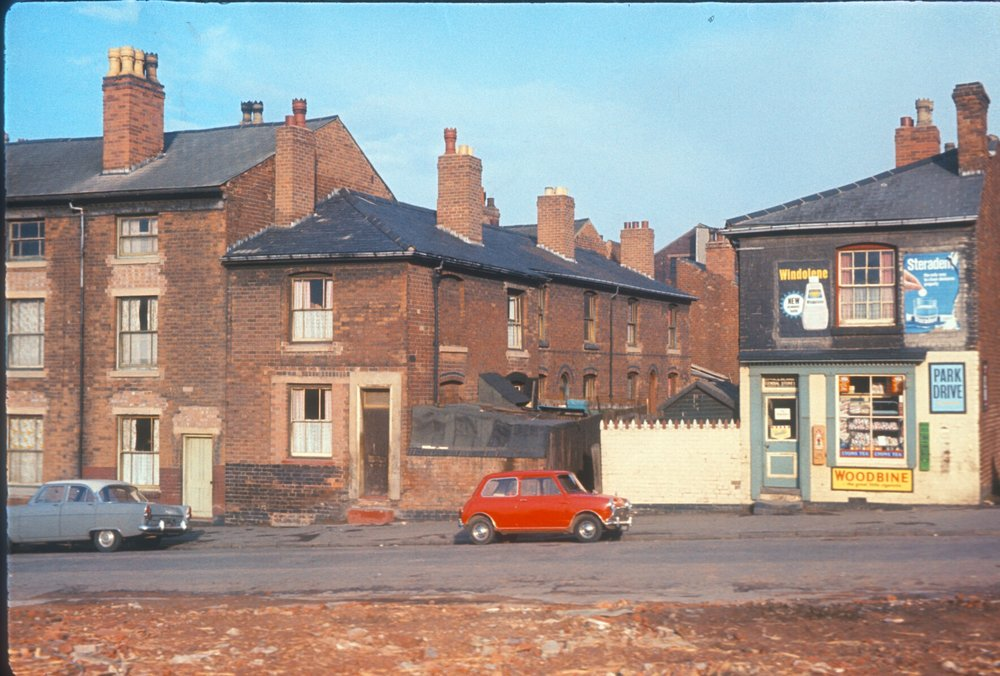 Newtown, Great Russell Street. Terraces & Back-to-back Houses. 28th March 1967