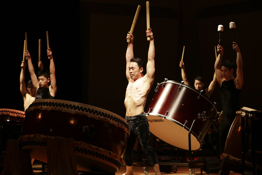 KODO Taiko performing arts ensemble - photo Takashi Okamoto (2).jpg