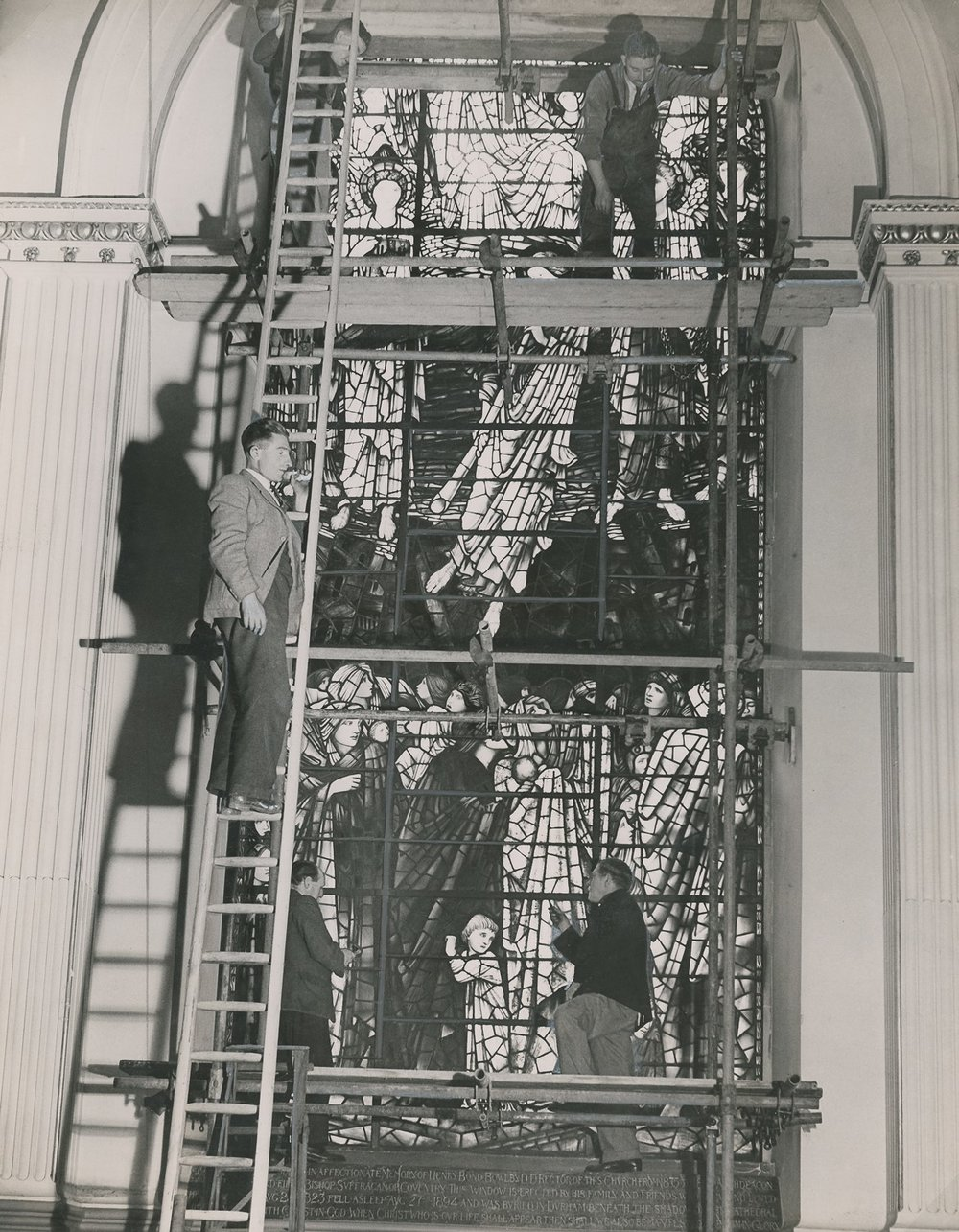 Men-up-ladder-removing-BJ-windows-during-WWII.jpg
