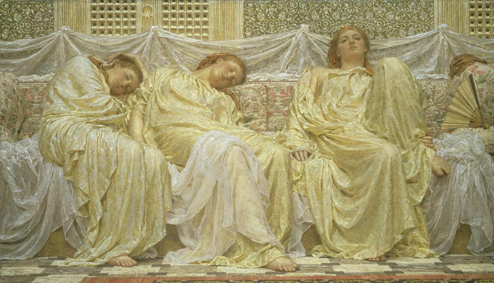 Dreamers, 1850-1882, Albert Joseph Moore.JPG