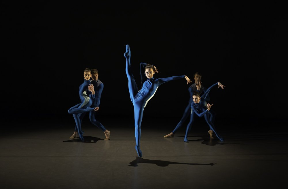 Summer Creations. Elmhurst Ballet School in 'Ask Yourself' by Stéphen Delattre. Photo by Andy Ross.jpg