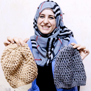 SYRIAN REFUGEE ARTISAN MICROBUSINESS - SUPPLIES  Suggested Gift: $50   $50 provides funding for materials to create  handmade products  to sustain a family.