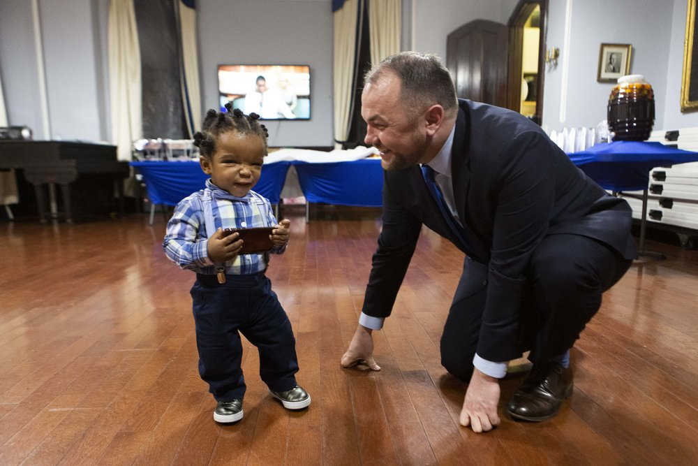 01-08-2019 - Speaker Corey Johnson Attends Attoney General Letitia James Brooklyn Meet and Greet Reception at Emmanuel Baptist Church-Credit Emil Cohen_034.JPG