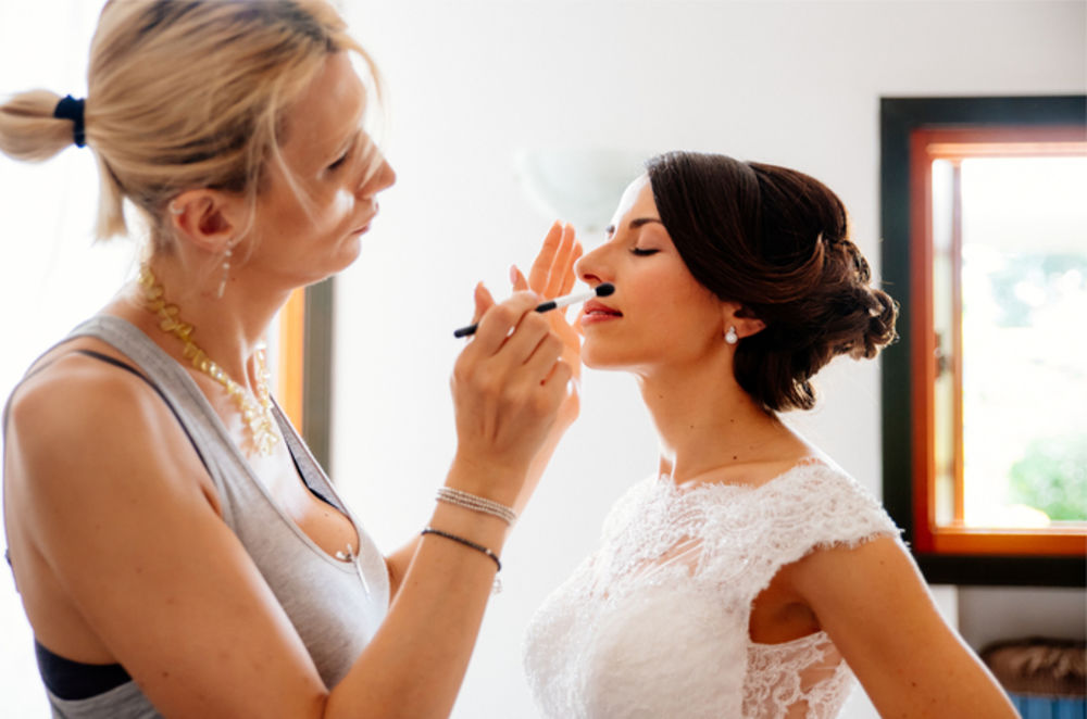 Wedding hair and makeup Venice
