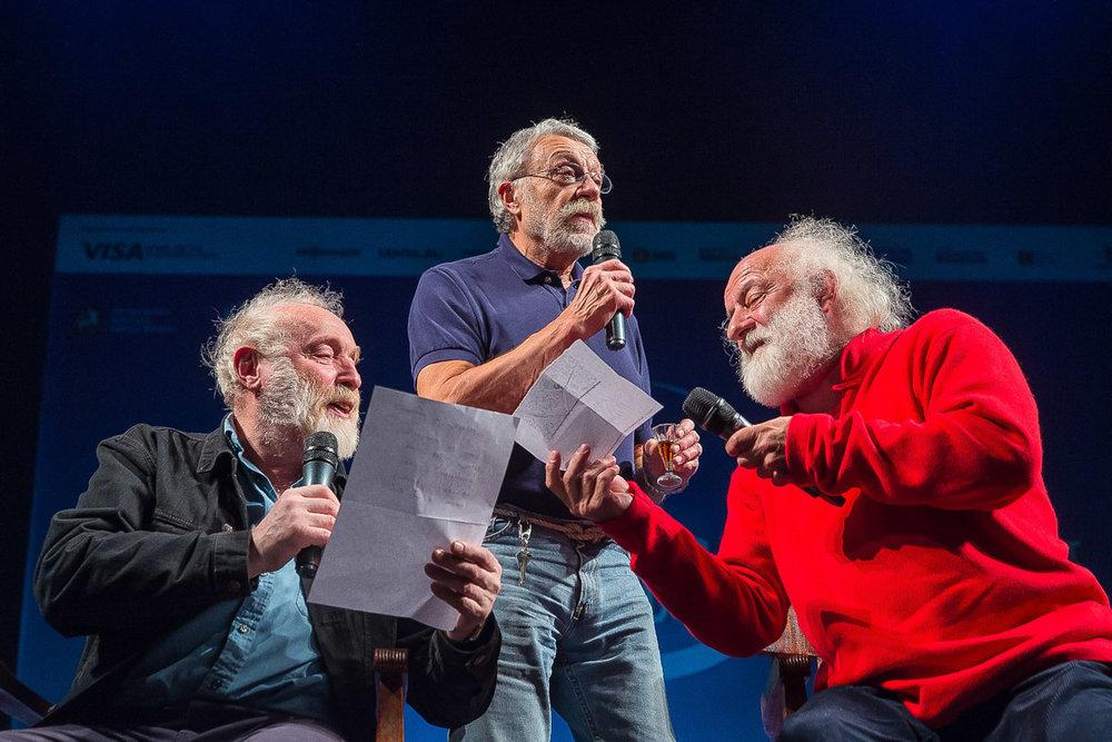 Yuri Norshteyn, Yuri Rost, Slava Polunin / marka:ff