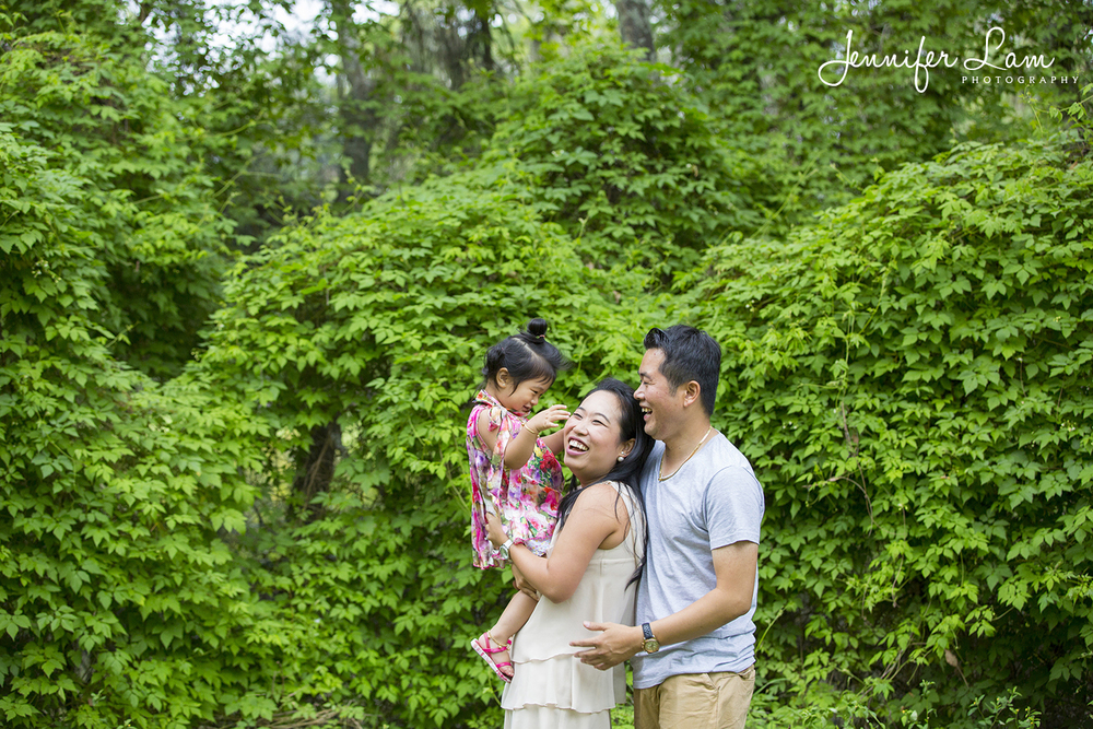 Family Portrait Session - Jennifer Lam Photography