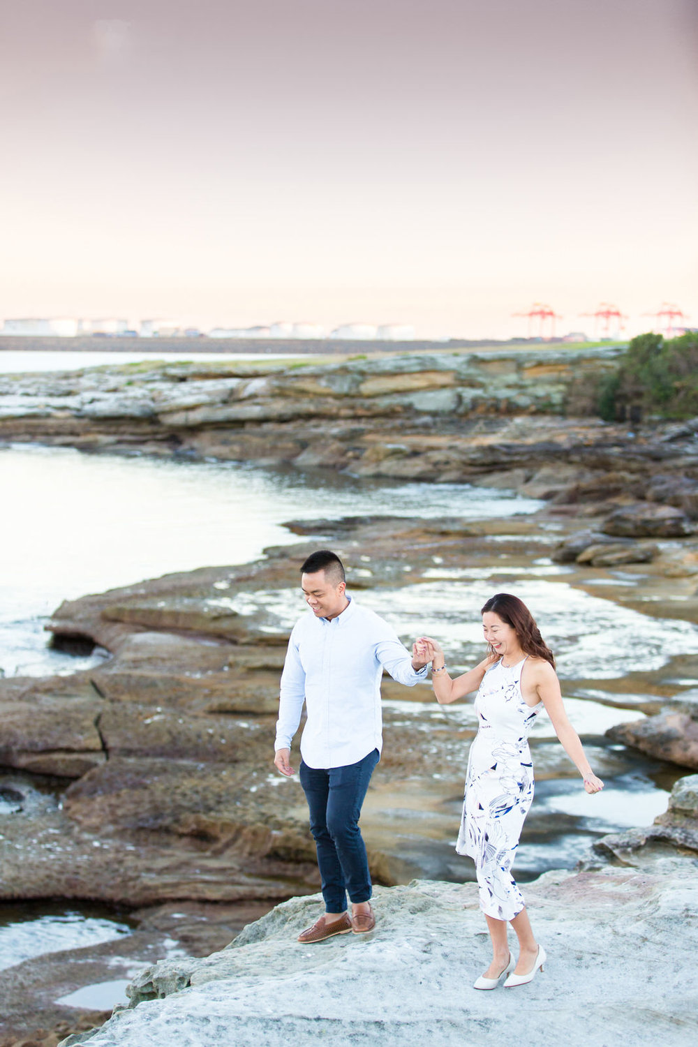 Sydney Engagement Pre-Wedding Photography Session - Jennifer Lam Photography - La Perouse (5).jpg
