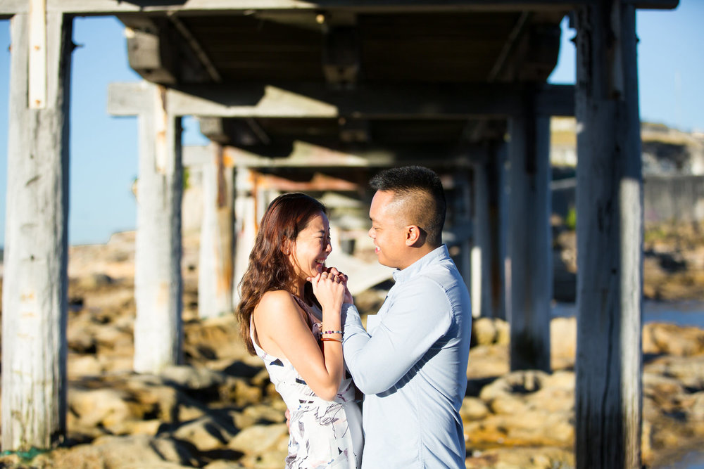 Sydney Engagement Pre-Wedding Photography Session - Jennifer Lam Photography - La Perouse (22).jpg
