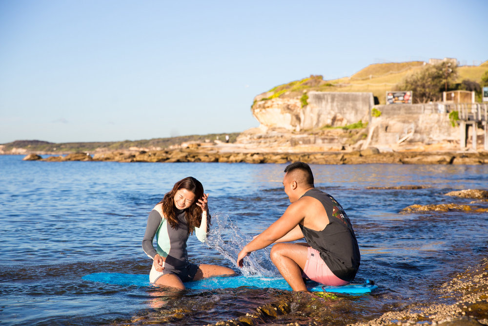 Sydney Engagement Pre-Wedding Photography Session - Jennifer Lam Photography - La Perouse (34).jpg