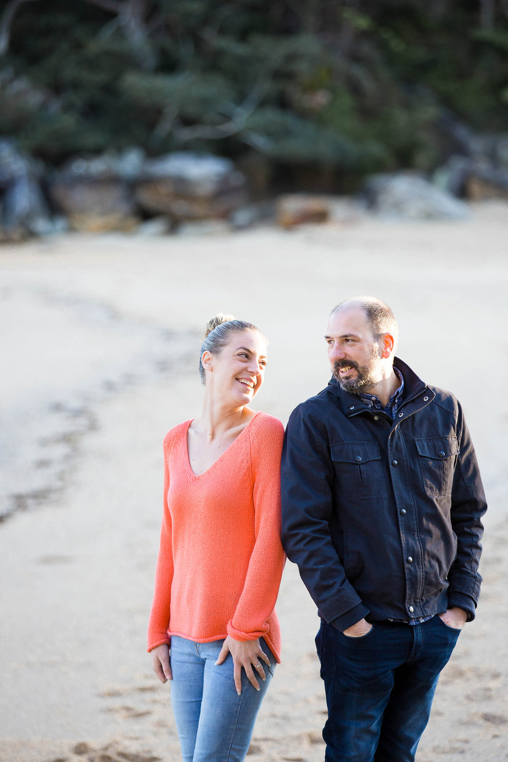 Sydney Pre-Wedding Photo Session - Shelly Beach Manly - Jennifer Lam Photography (9).jpg