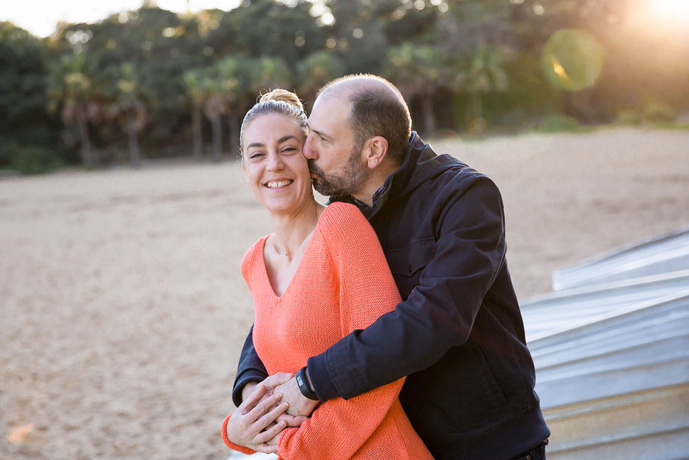 Sydney Pre-Wedding Photo Session - Shelly Beach Manly - Jennifer Lam Photography (12).jpg