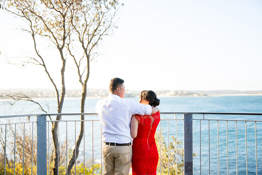 Shelly Beach Manly Pre-Wedding Engagement Session - jennifer Lam Photography (4).jpg